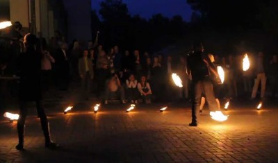 Vult Run - Fire Show