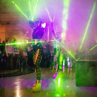 Laser Woman Show, фото