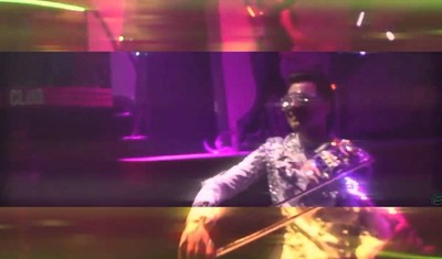 Laser violinist club performer trailer
