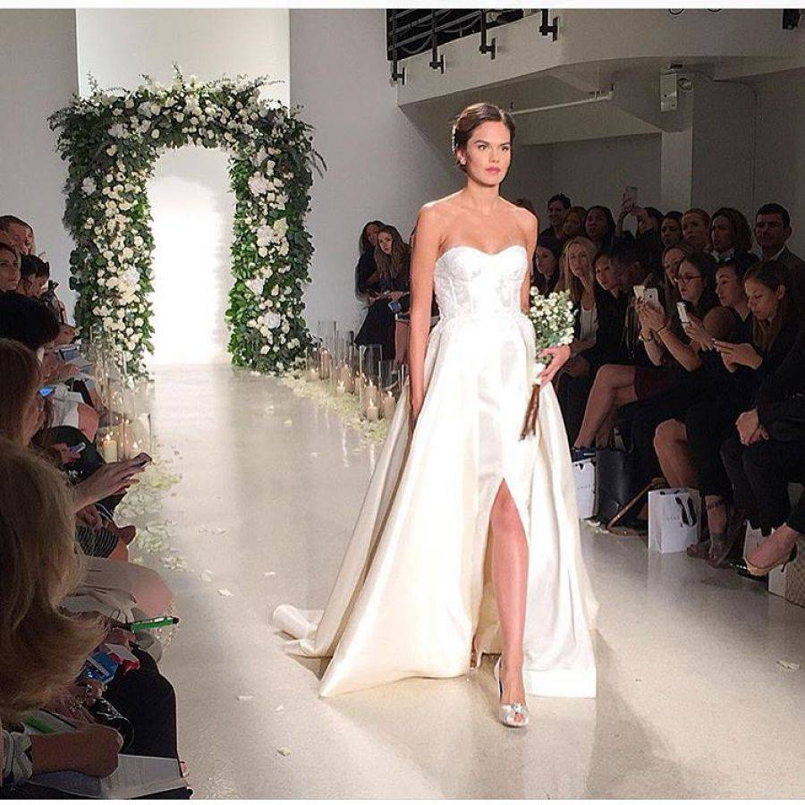 Bridal Fashion Week NY. Источник фото: Instagram.